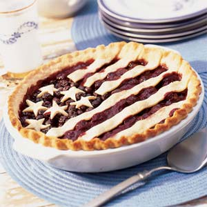 Old Glory pie