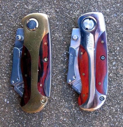 wooden matknives