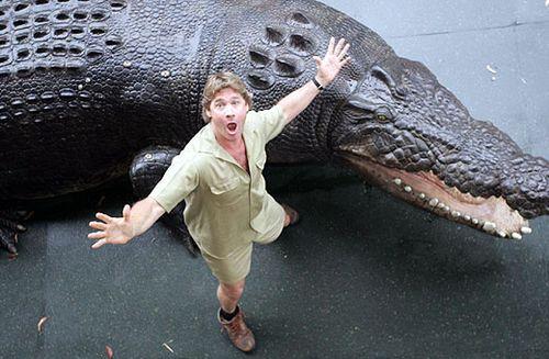big fake croc