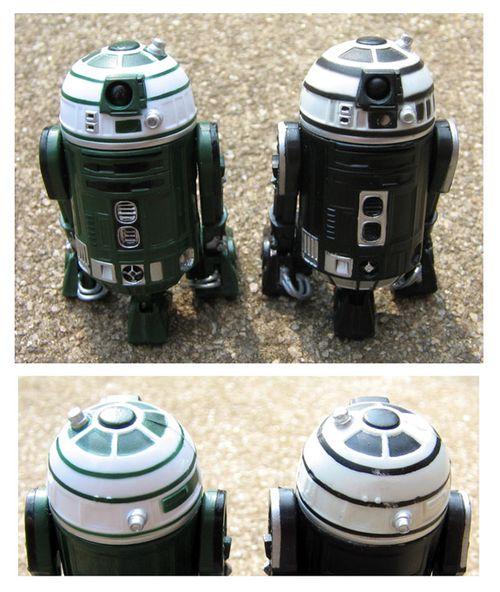 R2-X2: versions compared
