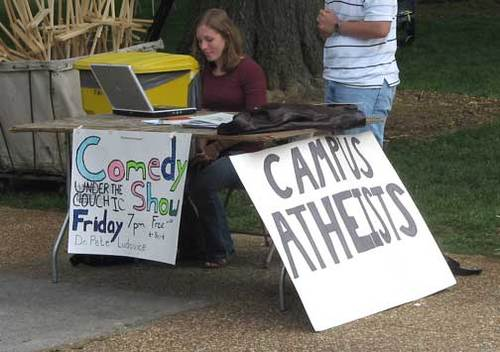 Campus atheists